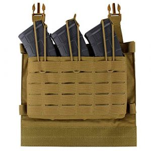 Condor Tactical Pouch 2 CONDOR LCS VAS Triple Magazine Panel - Coyote - New - 221152-498