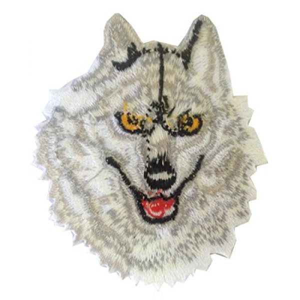 Ibestbuysell Airsoft Morale Patch 2 Wolf Patch for Backpacks - Wolf Iron on Patches for Clothing - Lone Wolf patchess for Jacket - Animal Patches Iron on - Nice Size- Stick Well - Versatile use for Jacket or Backpack