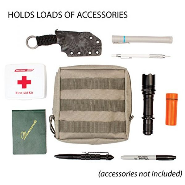 3V Gear Tactical Pouch 6 3V Gear Modular MOLLE Utility Pouch