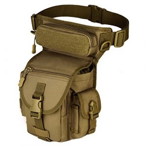 Protector Plus Tactical Pouch 1 Protector Plus Tactical Drop Leg Bag Military Fanny Tool Thigh Pack MOLLE Panel Utility Pouch Cross Over Leg Rig Versipack