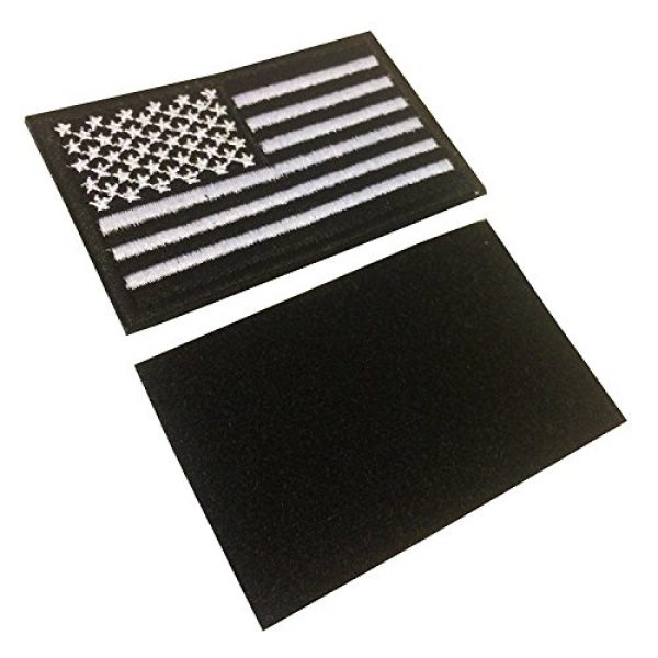 CREATOR Airsoft Morale Patch 2 CREATOR Tactical USA Flag Patch American Flag US United States of America Military Uniform Emblem Patches