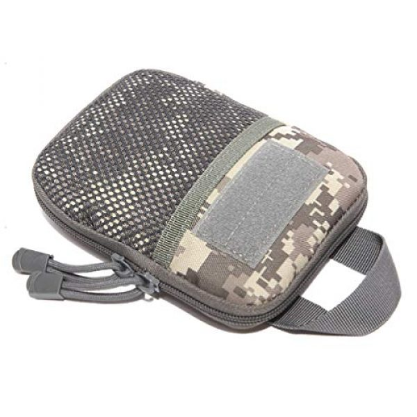 Azarxis Tactical Pouch 3 Azarxis Tactical Molle Pouch EDC Utility Gadget Outdoor Waist Bag with Phone Holder Holster for Men Women
