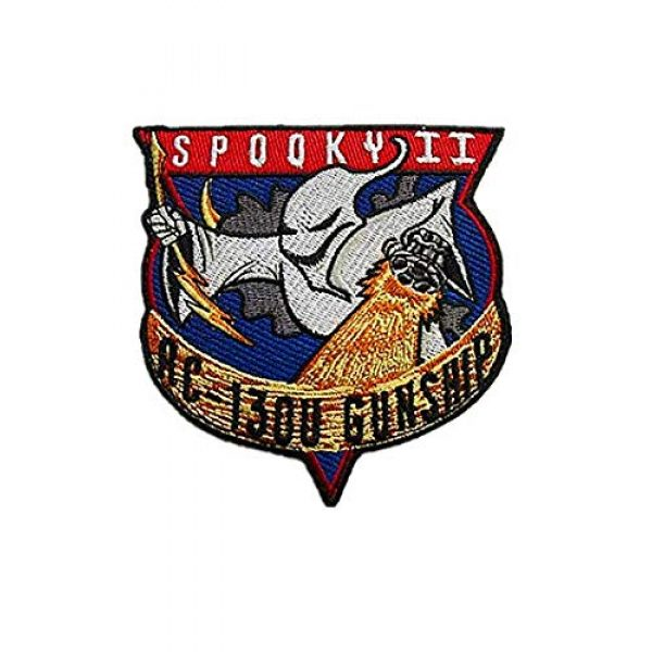 Embroidery Patch Airsoft Morale Patch 1 Air Force Special Ops Spooky II AC-130U Gunship Spectre Military Hook Loop Tactics Morale Embroidered Patch
