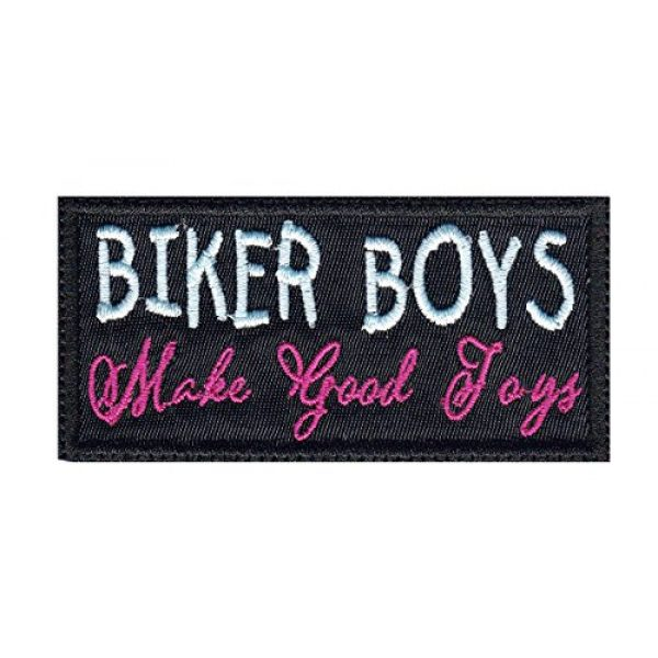 Tactical Patch Works Airsoft Morale Patch 1 Biker Boys Make Good Toys Biker Funny Motorcycle Patch