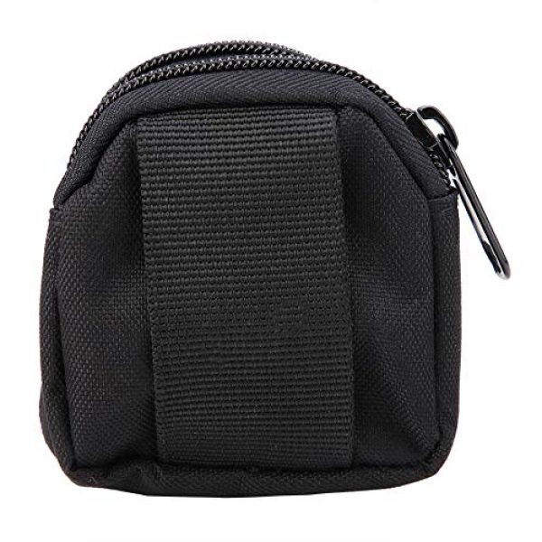 Alomejor Tactical Pouch 4 Alomejor Tactical Hanging Bag Sports Mini Waterproof Nylon Waterproof Waist Bag Outdoor Portable Storage Pouch