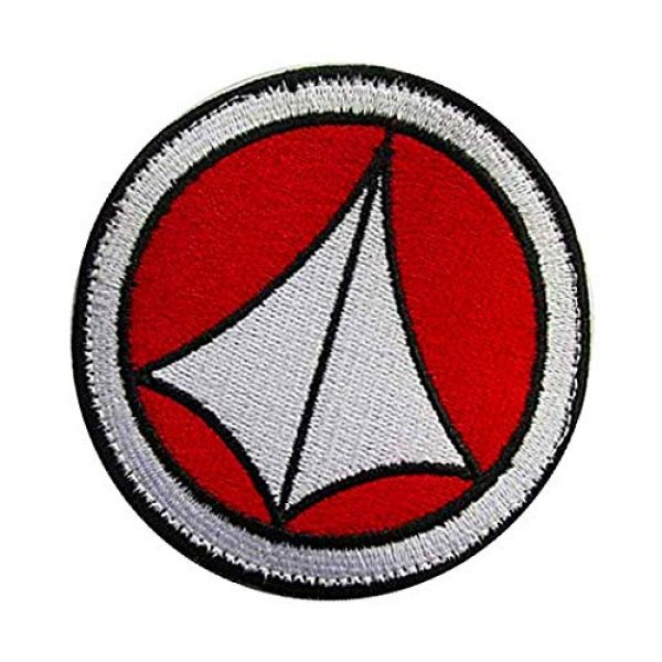 Embroidery Patch Airsoft Morale Patch 3 Robotech Macross Logo Military Hook Loop Tactics Morale Embroidered Patch