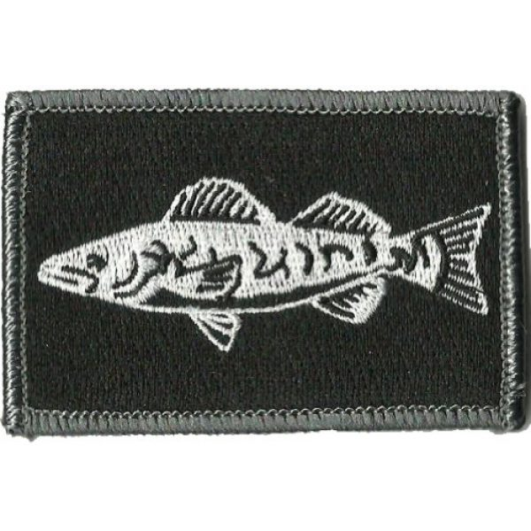 Gadsden and Culpeper Airsoft Morale Patch 1 Tactical Wildlife Walleye Patch