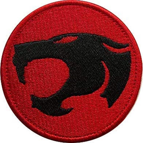 Embroidery Patch Airsoft Morale Patch 1 Thunder Cats Military Hook Loop Tactics Morale Embroidered Patch