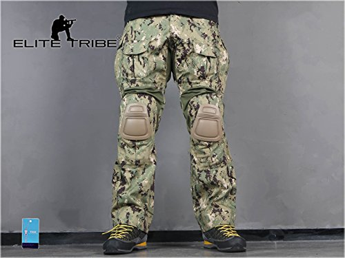 Elite Tribe Tactical Pant 3 Emerson Airsoft Hunting Tactical Pants Combat Gen3 Pants with Knee Pad