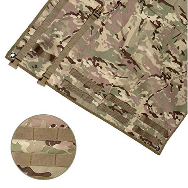 N  A Tactical Pouch 5 N  A Shooting Mat for Range, Shooting Mat, Shooting Gear Tactical Training Shooting Pad Rool-Up Shooters Mat Non-Slip Durable Shooting Rest