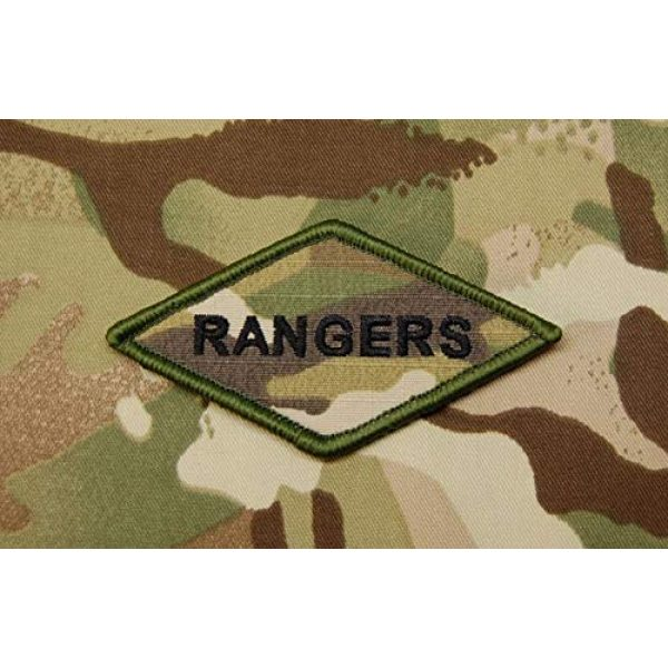 BritKitUSA Airsoft Morale Patch 1 BritKitUSA Multicam Rangers Diamond Morale Patch 75th Ranger Regiment Fort Benning US Army