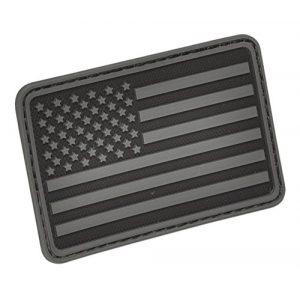 HAZARD 4 Airsoft Morale Patch 1 HAZARD 4 USA Flag (Left Arm) Rubber Patch (R)