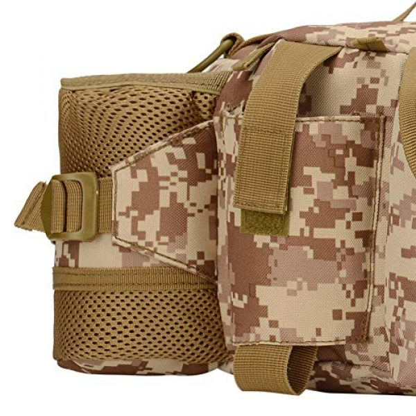 ANTARCTICA Tactical Pouch 3 ANTARCTICA 1050D Military Tactical Waist Pack Bag Fanny Pack Sling Bag Range Bag EDC Camera Bag with Shoulder Strap for Outdoor,Sports,Jogging,Walking,Hiking,Cycling