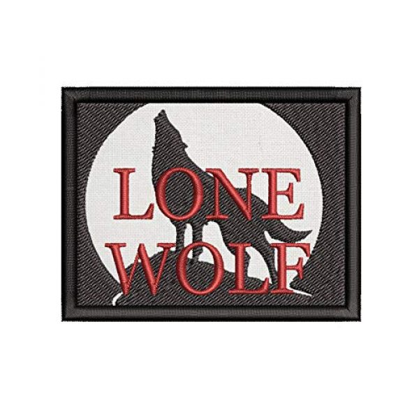 Appalachian Spirit Airsoft Morale Patch 1 Lone Wolf Tactical Saying Morale Military Tag Embroidered Premium Patch DIY Iron-on or Sew-on Decorative Badge Emblem Gear Clothes Appliques
