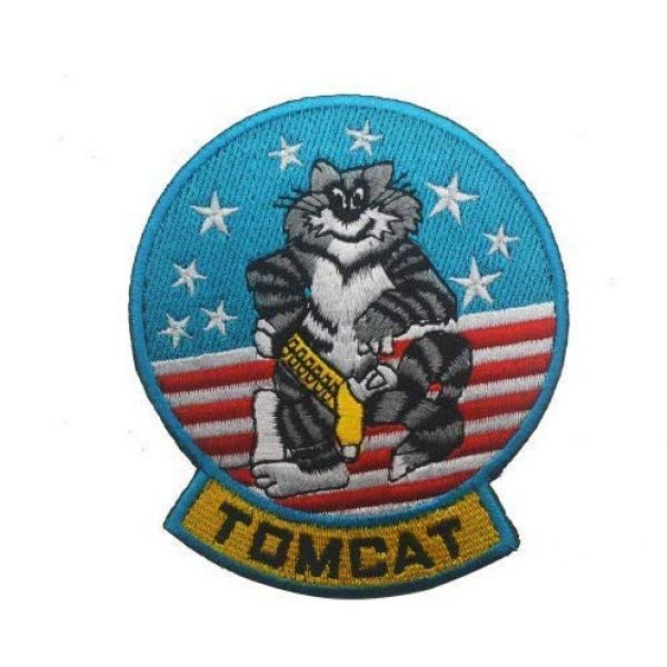 Embroidered Patch Airsoft Morale Patch 1 Navy F-14 Tomcat Tom Cat Baby 3D Tactical Patch Military Embroidered Morale Tags Badge Embroidered Patch DIY Applique Shoulder Patch Embroidery Gift Patch