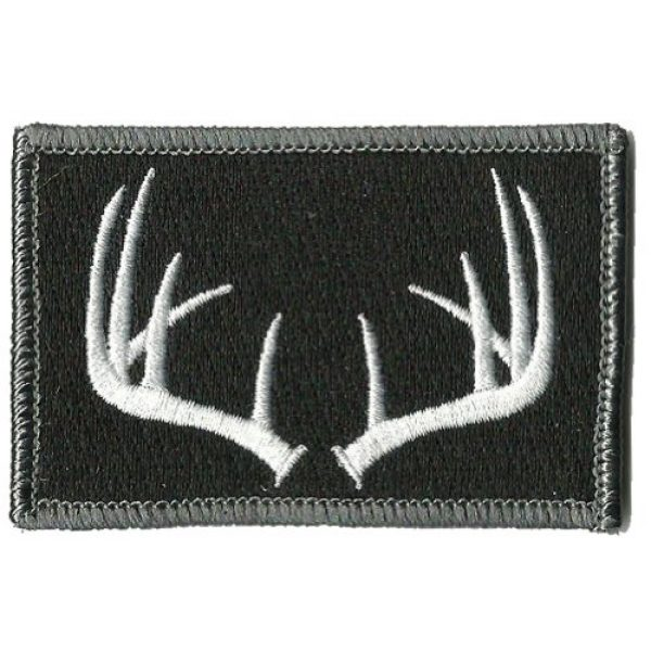 Gadsden and Culpeper Airsoft Morale Patch 1 Tactical Wildlife Antlers Patch