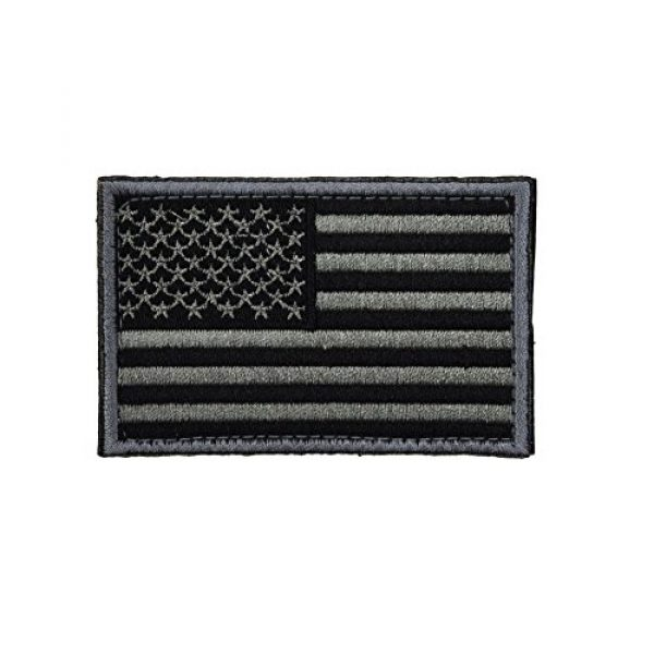 CREATOR Airsoft Morale Patch 1 CREATOR Tactical USA Flag Patch American Flag US United States of America Military Uniform Emblem Patches