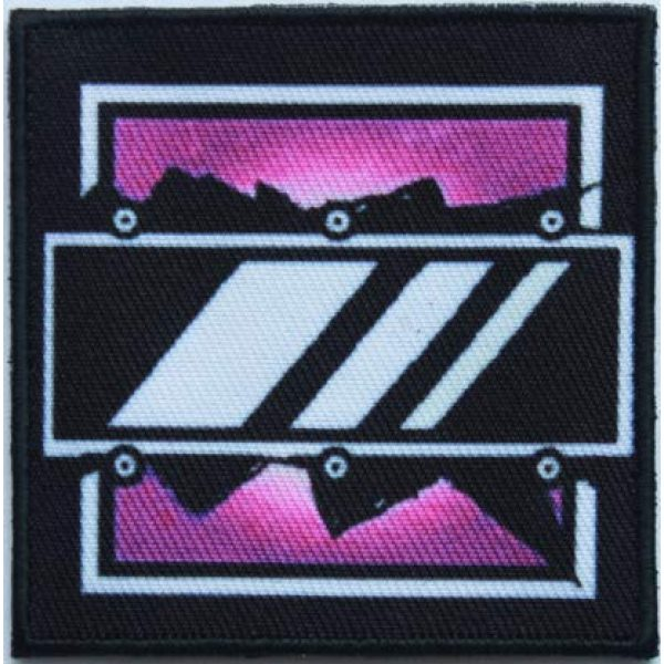 Tactical Embroidery Patch Airsoft Morale Patch 1 Rainbow Six Operator Mira Embroidery Patch Military Tactical Morale Patch Badges Emblem Applique Hook Patches for Clothes Backpack Accessories