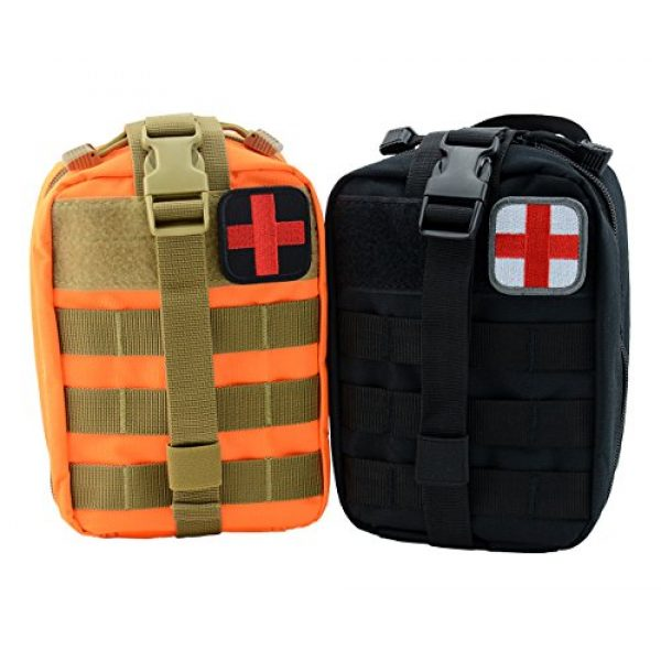 Bausweety Airsoft Morale Patch 2 Bausweety Medic Cross Tactical Patch 2 Pieces