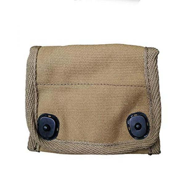 ANQIAO Tactical Pouch 2 ANQIAO Reproduction WW2 US Compass Pouch Bag with Modern Compass