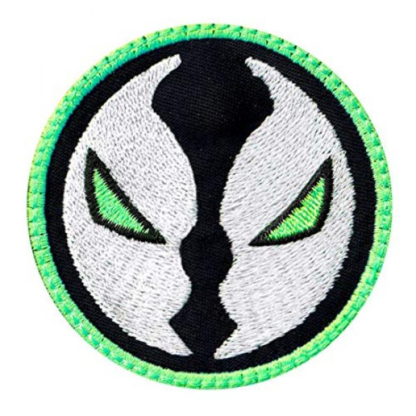 Tactical Patch Works Airsoft Morale Patch 1 Spawn Hell Cartoon Head Compatible Inspired Art Patch
