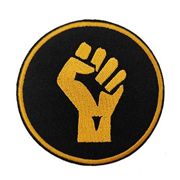 Cute-Patch Airsoft Morale Patch 5 Fist Up Black Lives Matter Iron on Patches Hat Pin BLM