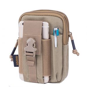 REEBOW GEAR Tactical Pouch 1 REEBOW GEAR Tactical Molle EDC Utility Pouch Gadget Belt Waist Bag with Cell Phone Holster Holder