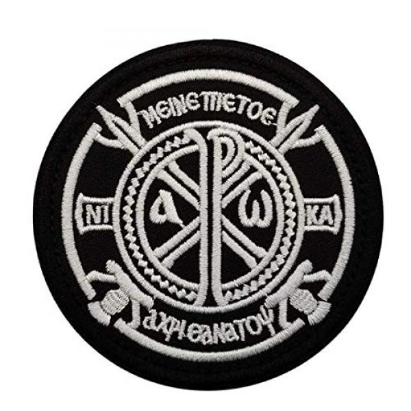 Tactical Embroidery Patch Airsoft Morale Patch 1 ALFA Team Constantine's Cross Russia FSB Embroidery Patch Military Tactical Morale Patch Badges Emblem Applique Hook Patches for Clothes Backpack Accessories