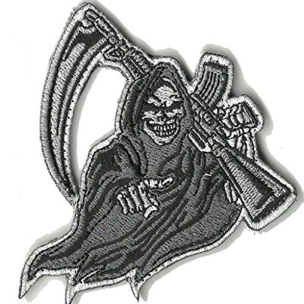 Gadsden and Culpeper Airsoft Morale Patch 1 AR-15 Evil Reaper Tactical Patch