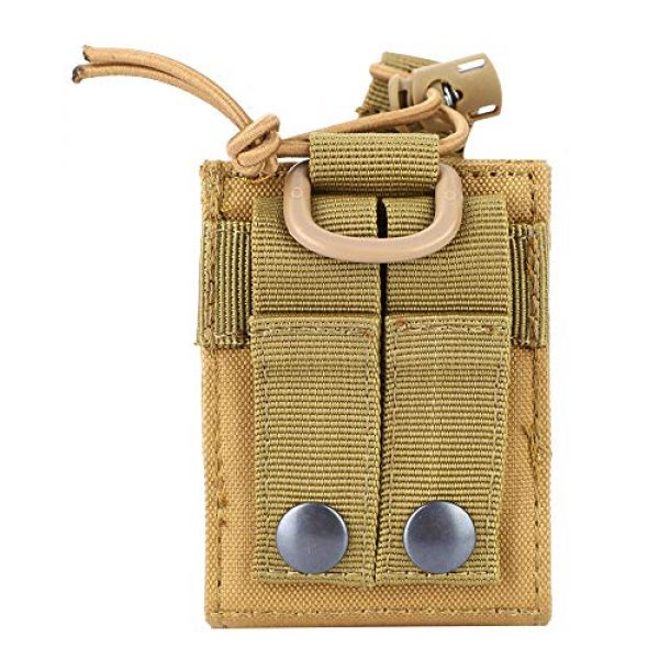 Hoseten Tactical Pouch 7 Durable Radio Holder, Radio Case, Portable Cosplay Tool Camping Bag for Outdoor Sports