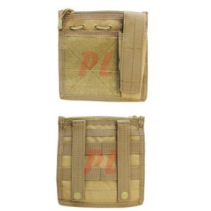 Condor Tactical Pouch 1 Condor MA30 Admin Pouch w/ Flashlight pouch - Coyote Tan