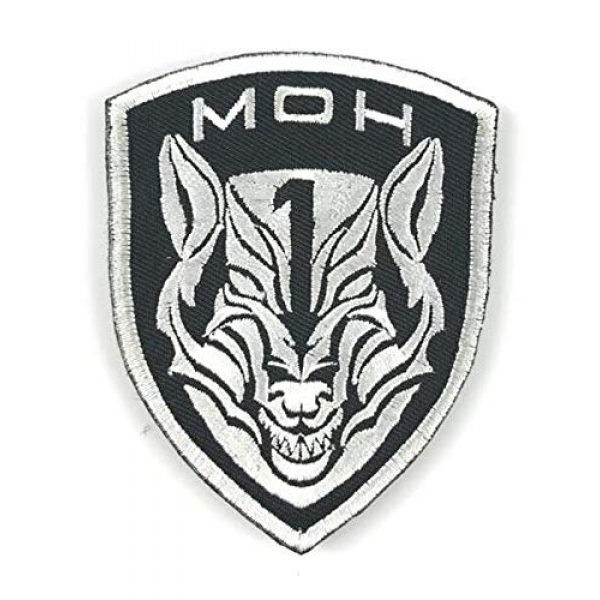 Embroidered Patch Airsoft Morale Patch 1 Medal of Honor MOH AFO Wolf 3D Tactical Patch Military Embroidered Morale Tags Badge Embroidered Patch DIY Applique Shoulder Patch Embroidery Gift Patch