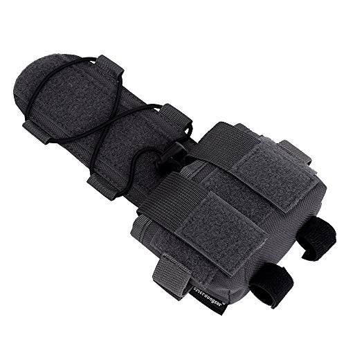EMERSONGEAR Tactical Pouch 6 EMERSONGEAR Molle Tactical Helmet Pouch Removable Gear Pouch Tactical Fast Helmet Accessories Utility Pouch Helmet Cover Counterweight Bag, Counterbalance Weight Bag