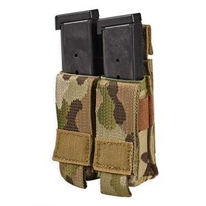 Chase Tactical Tactical Pouch 1 Chase Tactical Pistol Mag Pouch - Compact, Fast Access, Velcro Fixing - Includes Rolled Cover Flap - for Military, Law Enforcement, Medical, Combat Training - Unisex