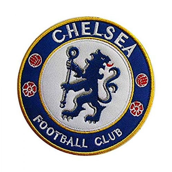 Embroidery Patch Airsoft Morale Patch 3 England Soccer Team Chelsea Soccer Football Club Military Hook Loop Tactics Morale Embroidered Patch