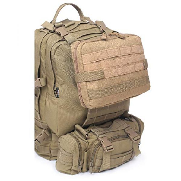 TRIWONDER Tactical Pouch 7 TRIWONDER Tactical Admin Molle Pouch Compact Utility Gadget Gear Tool Bag EDC Pouch Military EMT Organizer