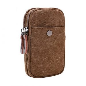 Vrikoo Tactical Pouch 1 Vrikoo Universal Wallet Phone Pouch Tactical Waist Pack with Belt Hook Loop