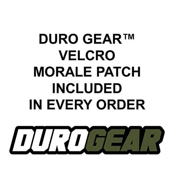 Duro Airsoft Morale Patch 2 DURO Gear Tactical USA Flag Morale Velcro Patches - Multi-Colored - 4 Pack