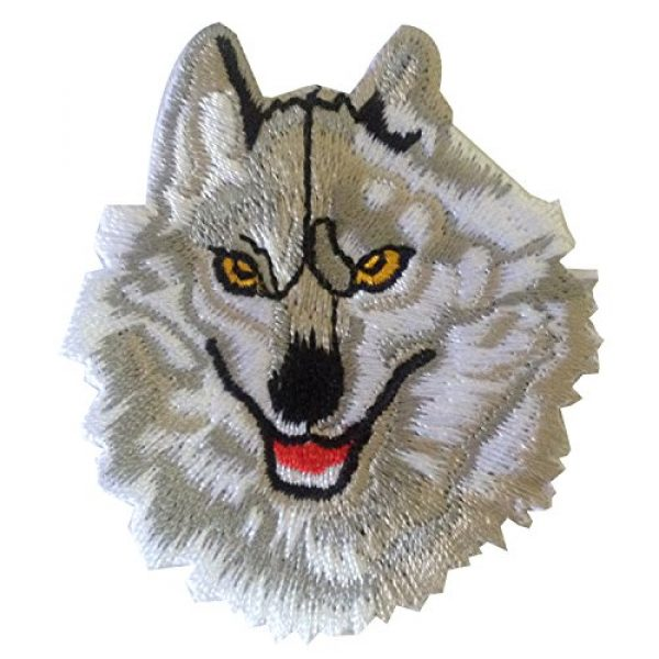 Ibestbuysell Airsoft Morale Patch 1 Wolf Patch for Backpacks - Wolf Iron on Patches for Clothing - Lone Wolf patchess for Jacket - Animal Patches Iron on - Nice Size- Stick Well - Versatile use for Jacket or Backpack