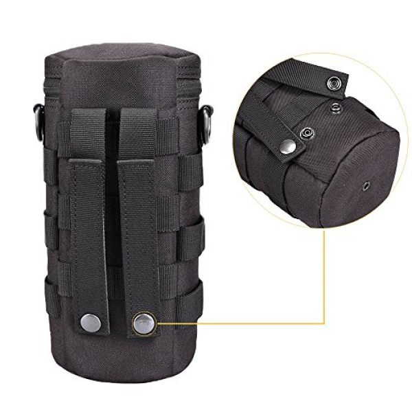 AMYIPO Tactical Pouch 4 AMYIPO Water Bottle Pouch Molle Tactical Holder Storage Bag for 32oz Carrier