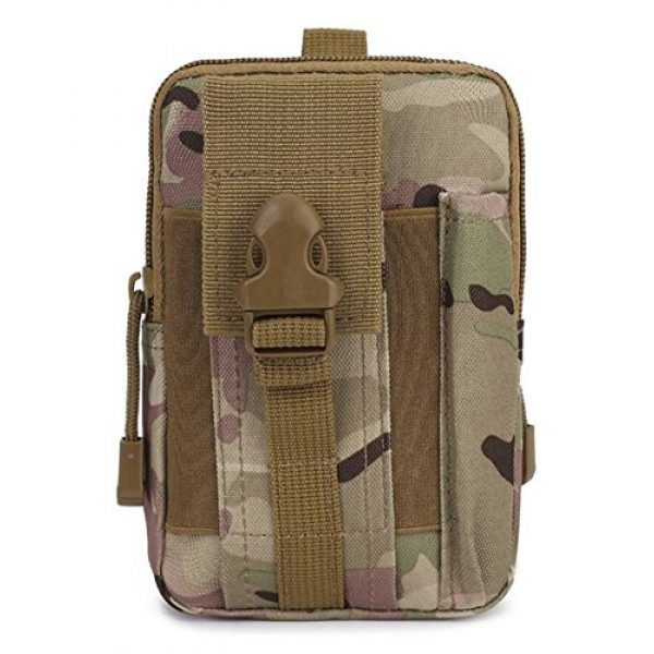 BlueSunshine Tactical Pouch 4 BlueSunshine Multipurpose Tactical Cover Smartphone Tan Camo Holster EDC Security Pack Carry Case Pouch Belt Waist Bag Gadget Money Pocket for iPhone 6s 7 Samsung Galaxy S7 Note5 LG G5