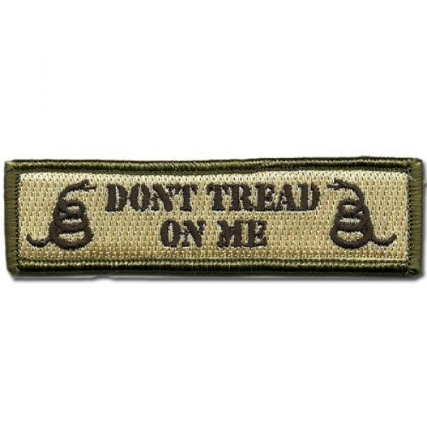 Horizon Airsoft Morale Patch 3 Horizon Don't Tread on Me Tactical Morale Patch