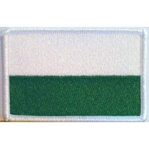 Fast Service Designs Airsoft Morale Patch 1 Medellin Colombia Flag Patch with Hook & Loop Travel Morale Patriotic Colombian Shoulder Emblem White Version #963