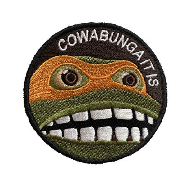 AwesomePatches Airsoft Morale Patch 2 Premium Iron-on Embroidery Decorative Sew-on Patches Appliqu© for Backpack Jeans Jackets Shirts Garments, 3 Inch