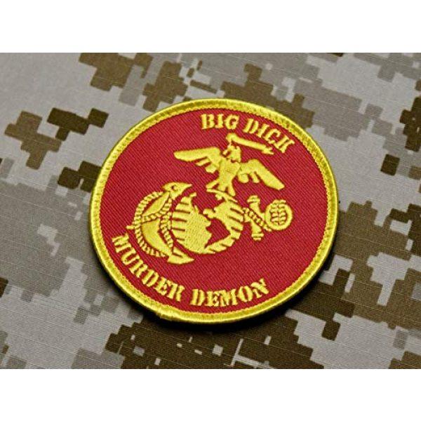 BritKitUSA Airsoft Morale Patch 1 BritKitUSA USMC Big Dick Murder Demon Morale Patch DTOM Battle Marine Corps Semper Fi Hook