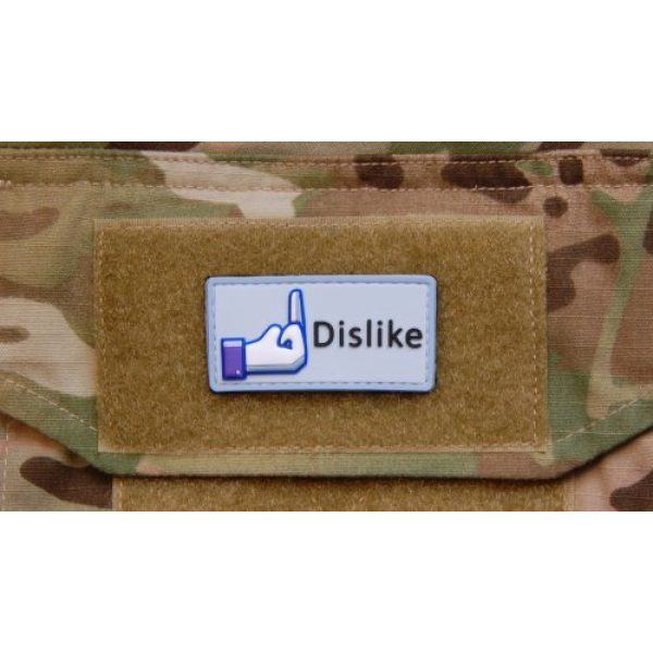 Britkit Airsoft Morale Patch 2 3d PVC Facebook Dislike Morale Patch Army Military