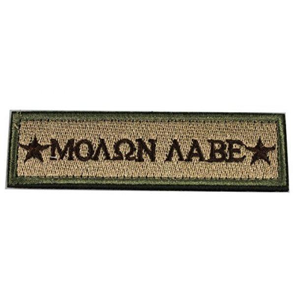 Horizon Airsoft Morale Patch 1 Horizon Molon Labe Morale Tactical Patch - Multitan