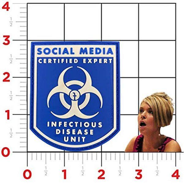 "Violent Little Machine Shop Airsoft Morale Patch 4 Violent Little""Certified Social Media Expert Infectious Diseases"" Morale Patch"