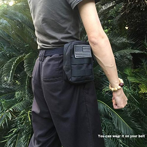 AMYIPO Tactical Pouch 2 AMYIPO MOLLE Pouch Multi-Purpose Compact Tactical Waist Bags Small Utility Pouch