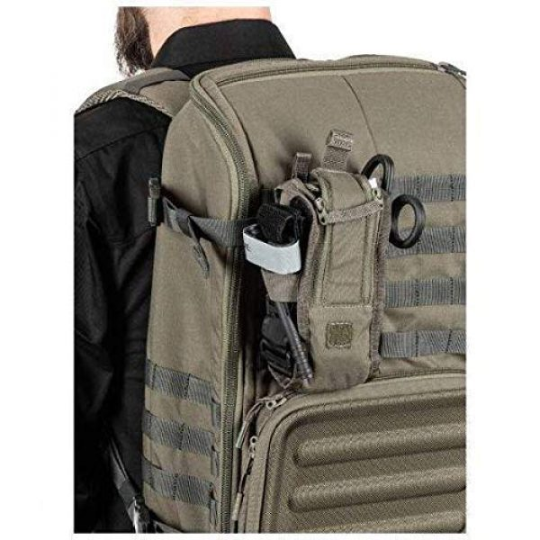 5.11 Tactical Pouch 6 5.11 Tactical Style # 56489 Flex Med Pouch, Includes Extra Flex Hook Adaptor Style # 56480, All in Black